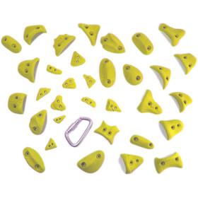 Ergoholds Power Pack Supporti Per Arrampicata 23+10, giallo